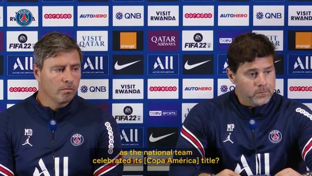 Pochettino: 'I'm very happy for Messi'