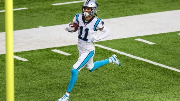 Panthers WR Robby Anderson scores touchdown