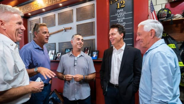 Former Mets greats Bobby Valentine, John Franco and Todd Zeile, along with vice president of ballpark operations Sue Lucchi discussed the aftermath of the 9/11 attacks to commemorate the 20th anniversary of the day America changed forever.