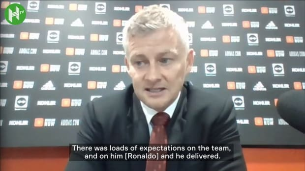 Ole Gunnar Solskjær on Cristiano Ronaldo's goalscoring debut