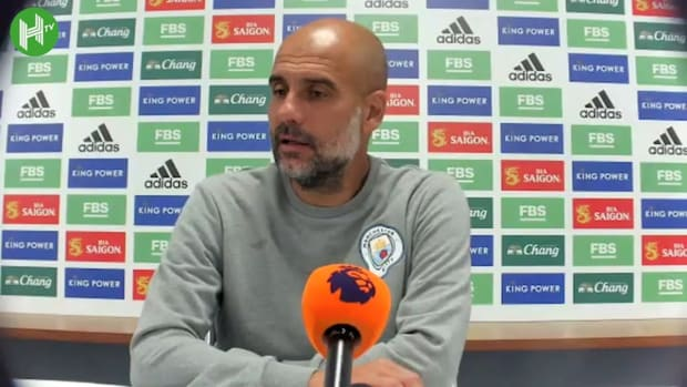 Pep Guardiola on 'excellent performance' in win over Leicester