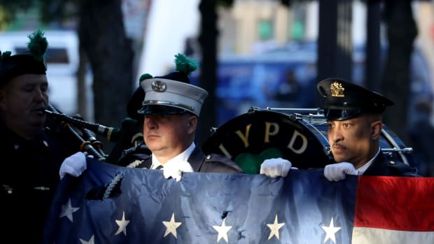 9-11 American Flag NYC