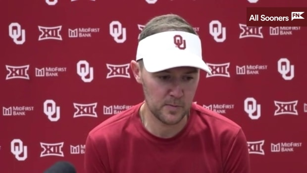 9-11 Lincoln Riley (WC Postgame)