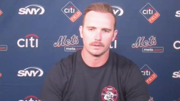 Mets' Pete Alonso and Hall of Famer Mike Piazza reflect on the 20th anniversary of 9/11.
