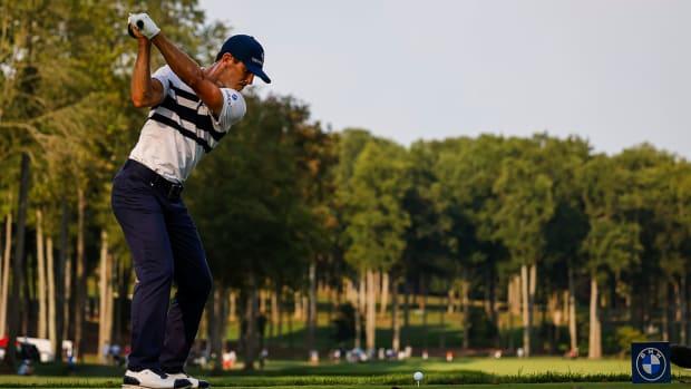 Billy Horschel played the PGA Tour and European Tour's BMW Championship.