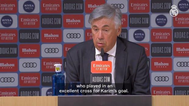 Carlo Ancelotti: 'The fans were a big help'