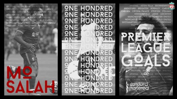 The stats behind Mohamed Salah's 100 Premier League goals