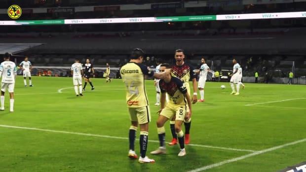 Álvaro Fidalgo's goal against Mazatlán