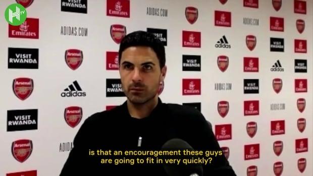Arteta on Tomiyasu adapting quickly to Arsenal