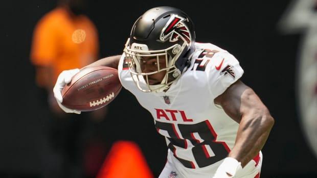 Mike Davis Atlanta Falcons