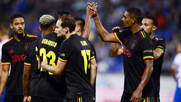 Ajax wears its Bob Marley-inspired jersey