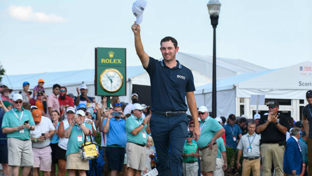 Patrick Cantlay won the 2021 FedEx Cup.