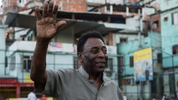 Pele in Brazil in 2014.
