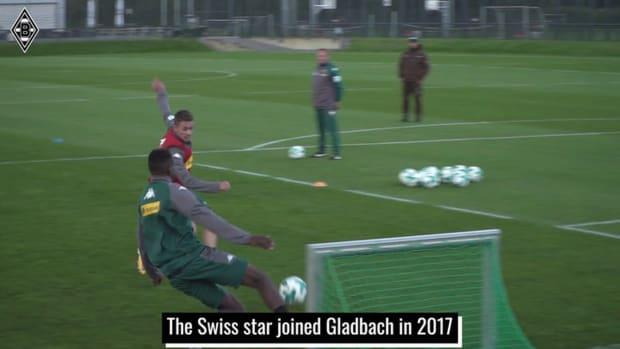 Zakaria's career at Gladbach
