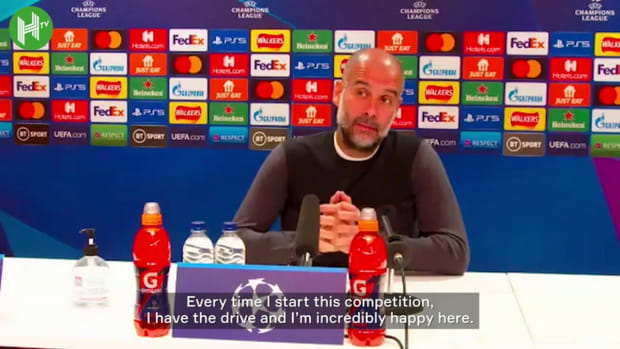 Pep Guardiola: 'I'm not playing alone, it's Manchester City'