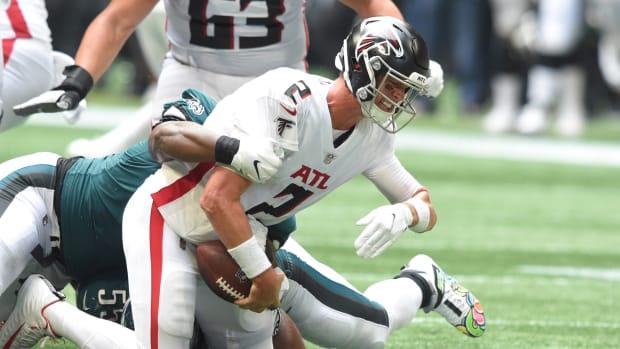 Matt Ryan Atlanta Falcons vs. Philadelphia Eagles