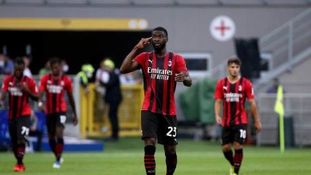 Fikayo Tomori AC Milan