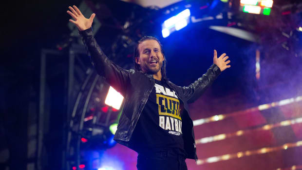 Adam Cole makes his debut in AEW