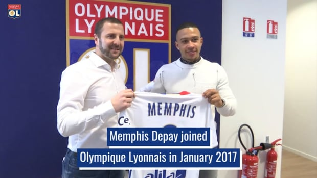 Memphis Depay's brillant OL career