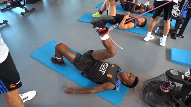 Behind The Scenes: The hard training of Marcelo, Rodrygo, Casemiro, Vinícius Jr. and Eder Militão with Real Madrid