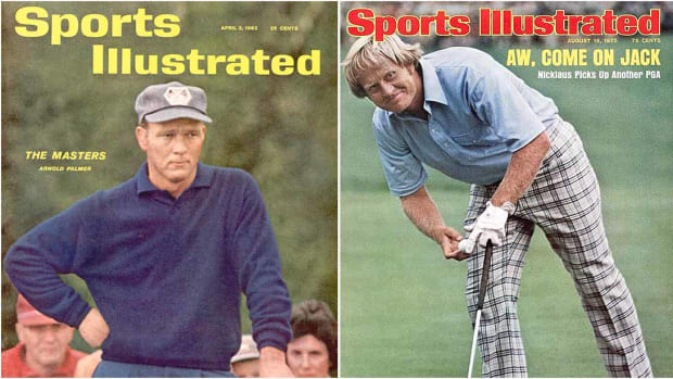 Arnold Palmer and Jack Nicklaus were both at the height of their powers (and popularity) when they suffered shocking losses in Ryder Cup matches.