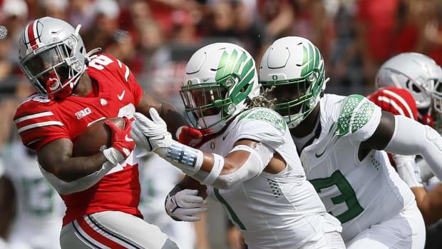 noah sewell-tackle-vs-ohio-state