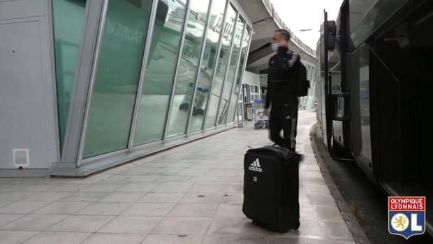Behind the scenes of Lyon's travel to Glasgow