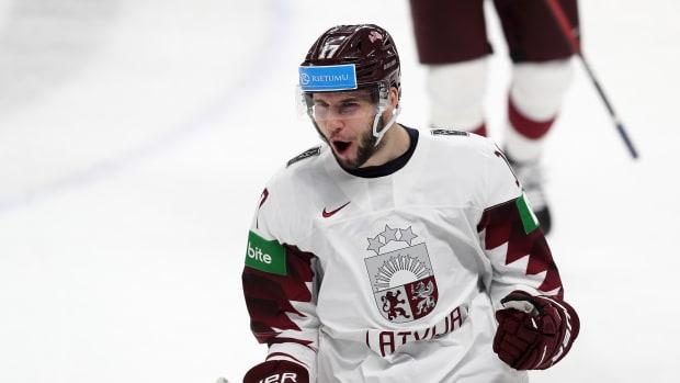 Martins Dzierkals of Latvia