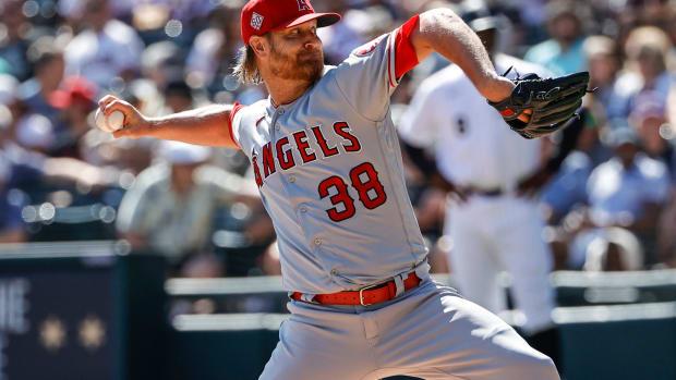 Los Angeles Angels Alex Cobb