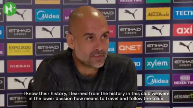 Pep Guardiola: 'We are proud of who we are'