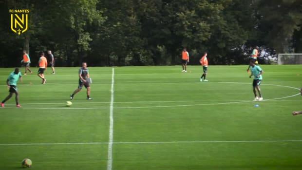 FC Nantes prepare derby vs Angers