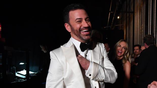 Talk-show host Jimmy Kimmel