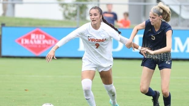 Diana Ordonez Virginia Cavaliers women's soccer