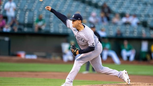Yankees SP Jameson Taillon pitching