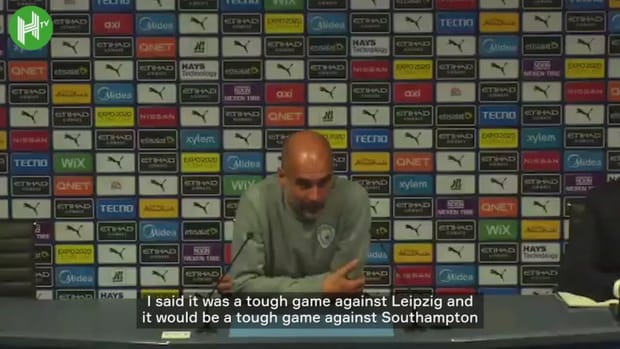 Pep Guardiola: 'We try to play better for the fans'