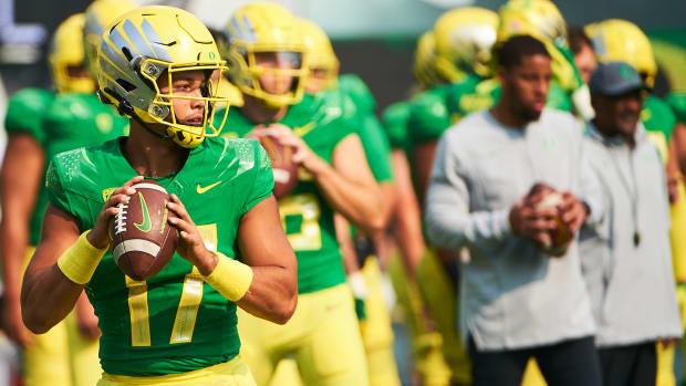 Ty Thompson Oregon vs. Fresno State