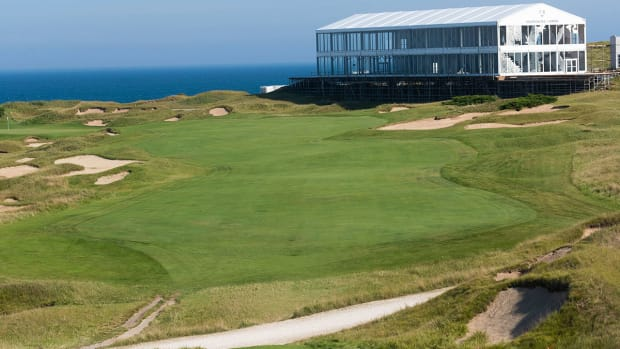 The first hole at Whistling Straits.