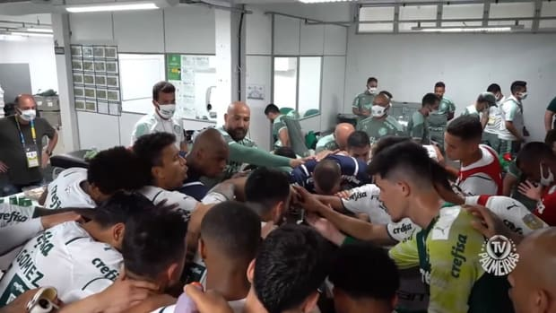 Behind the scenes of Palmeiras' away victory over Chapecoense