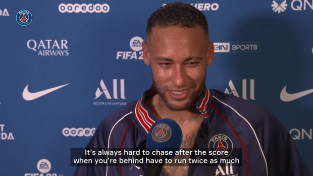 """Neymar: """"Really happy to come back with a win"""""""