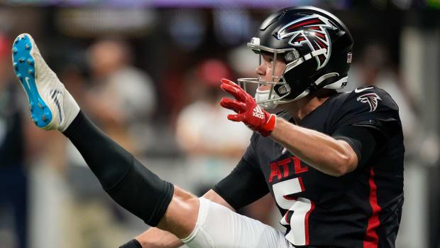 Cameron Nizialek Atlanta Falcons