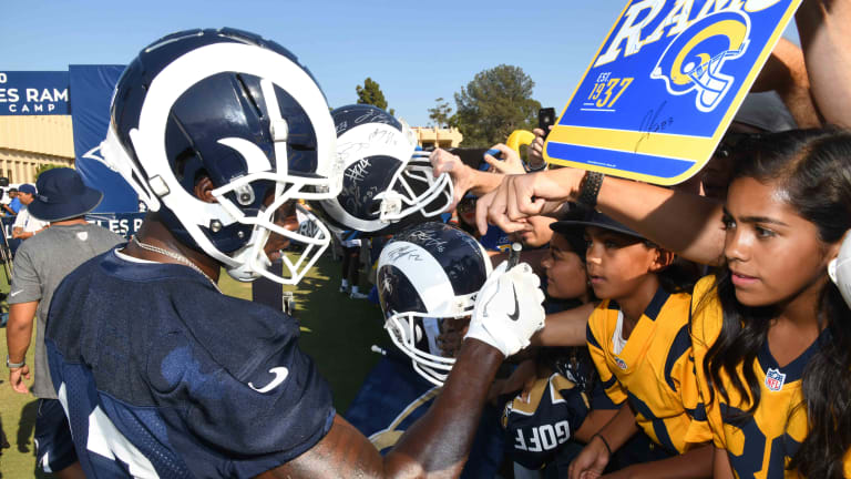 Rams Training Camp: Live Updates From Day 1 of Practice