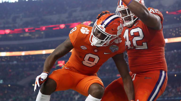 WATCH: Is Clemson's Justyn Ross college football's next breakout player?