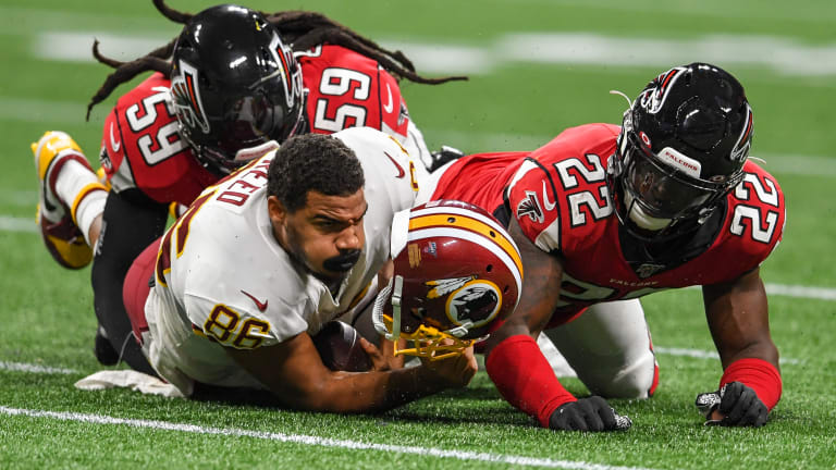 Redskins place TE Jordan Reed on IR, likely ending his season