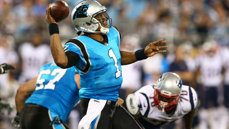Gameday Open Thread: Panthers vs. Patriots