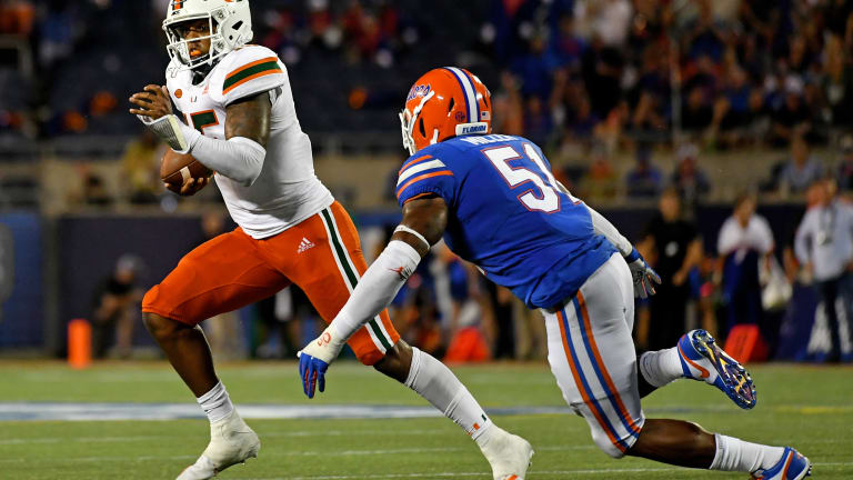 Linebacker Ventrell Miller gives Florida a good problem to have