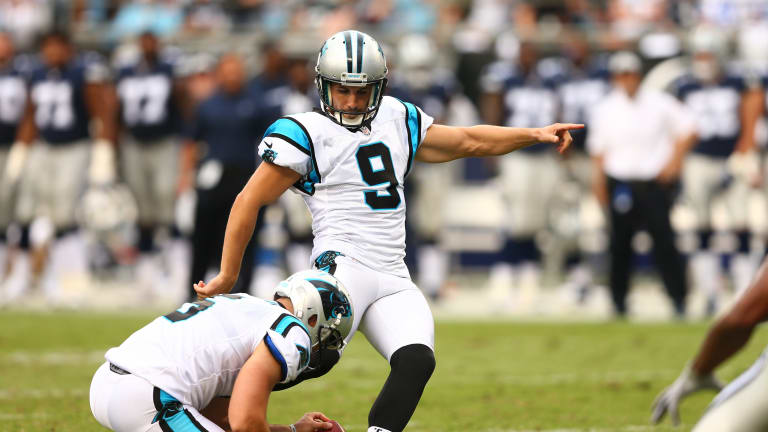 Report: Panthers Place Graham Gano on Injured Reserve, Ending His Season