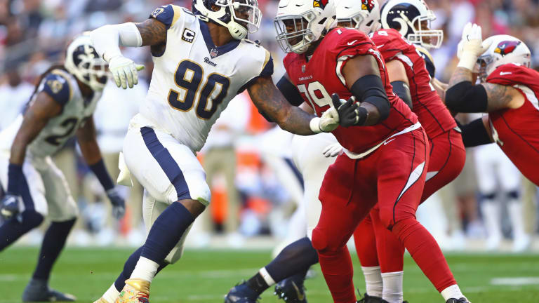 Report: Patriots trade 6th round pick to Cardinals for OT Korey Cunningham