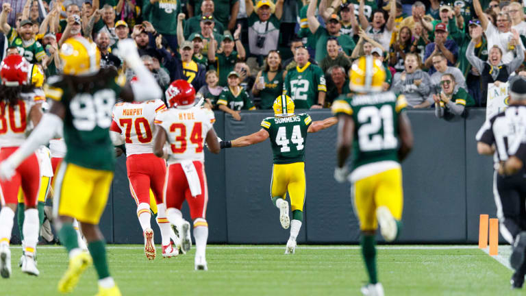 Packers hurdle Chiefs to close preseason with victory