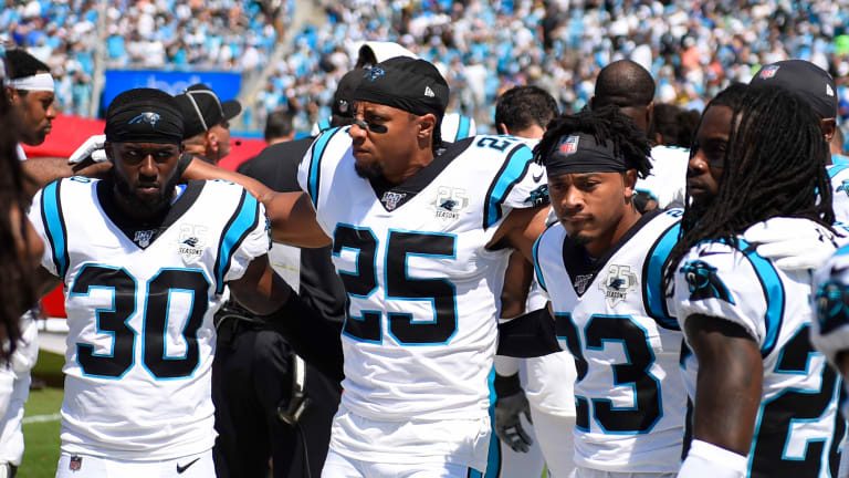 Panthers Held Rams to Sixth-Lowest Passer Rating in Week 1