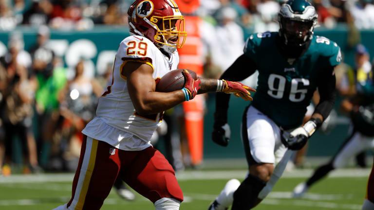 Redskins place Derrius Guice, Caleb Brantley on injured reserve